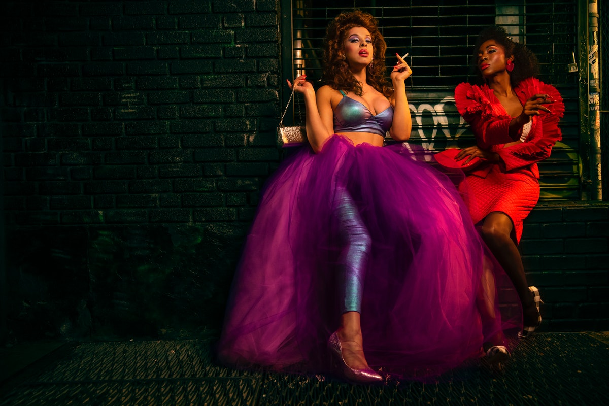 Hailie Sahar and Angelica Ross in 'Pose.'
