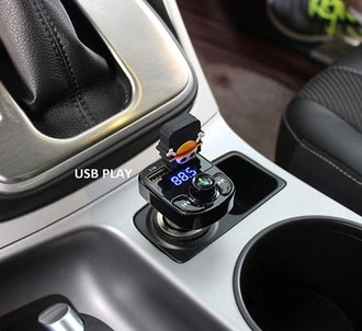 LIHAN Wireless Bluetooth FM Transmitter and USB Charger
