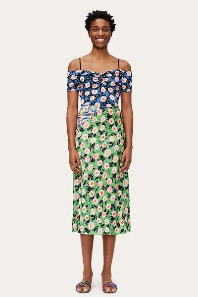 Selene Dress - Flowermarket Mix