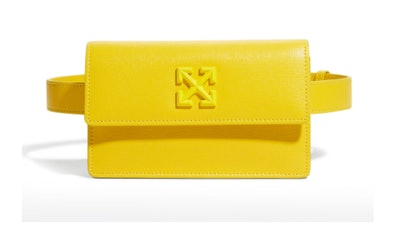 Jitney 0.8 Tonal Arrow Leather Belt Bag