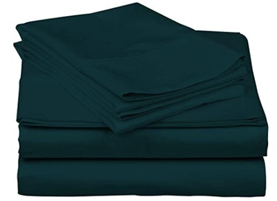 True Luxury 1,000-Thread-Count Egyptian Cotton Bed Sheets, Queen