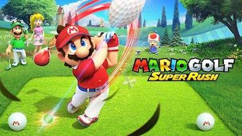 Mario Golf: Super Rush multiplayer