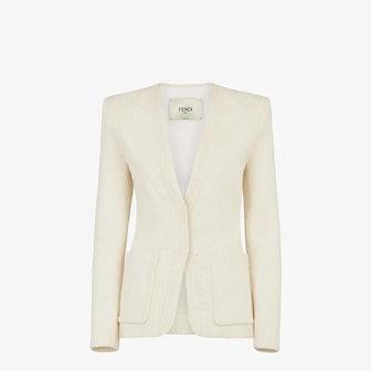 White Cotton Jacket