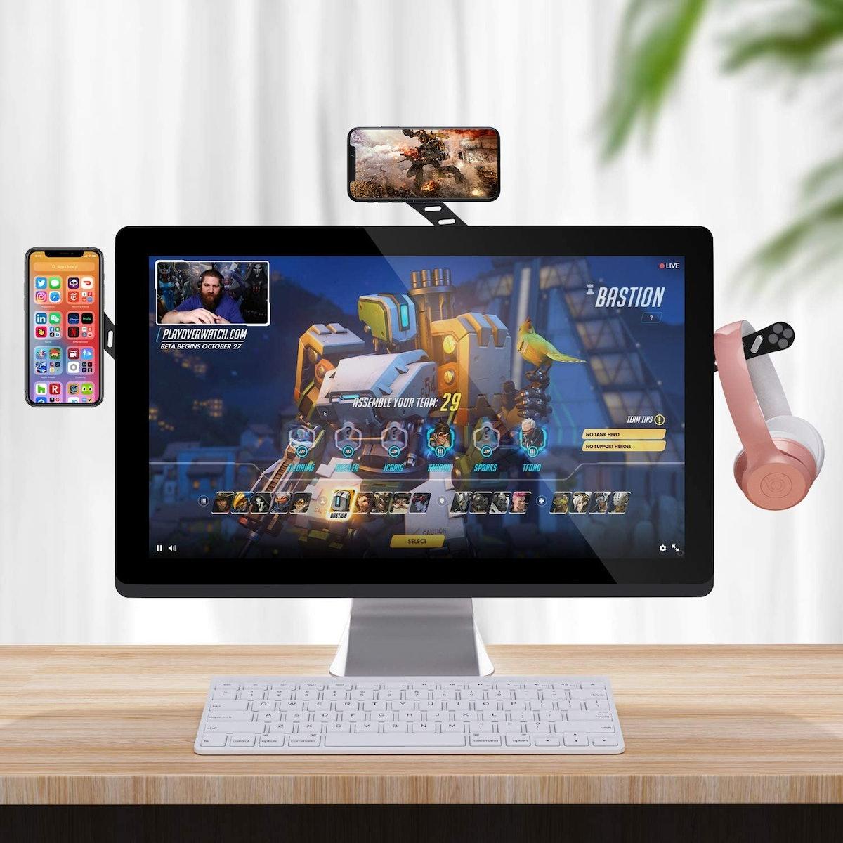 DK177 Adjustable Laptop Phone Holder