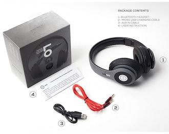 iJoy Rechargeable Wireless Bluetooth Headphones