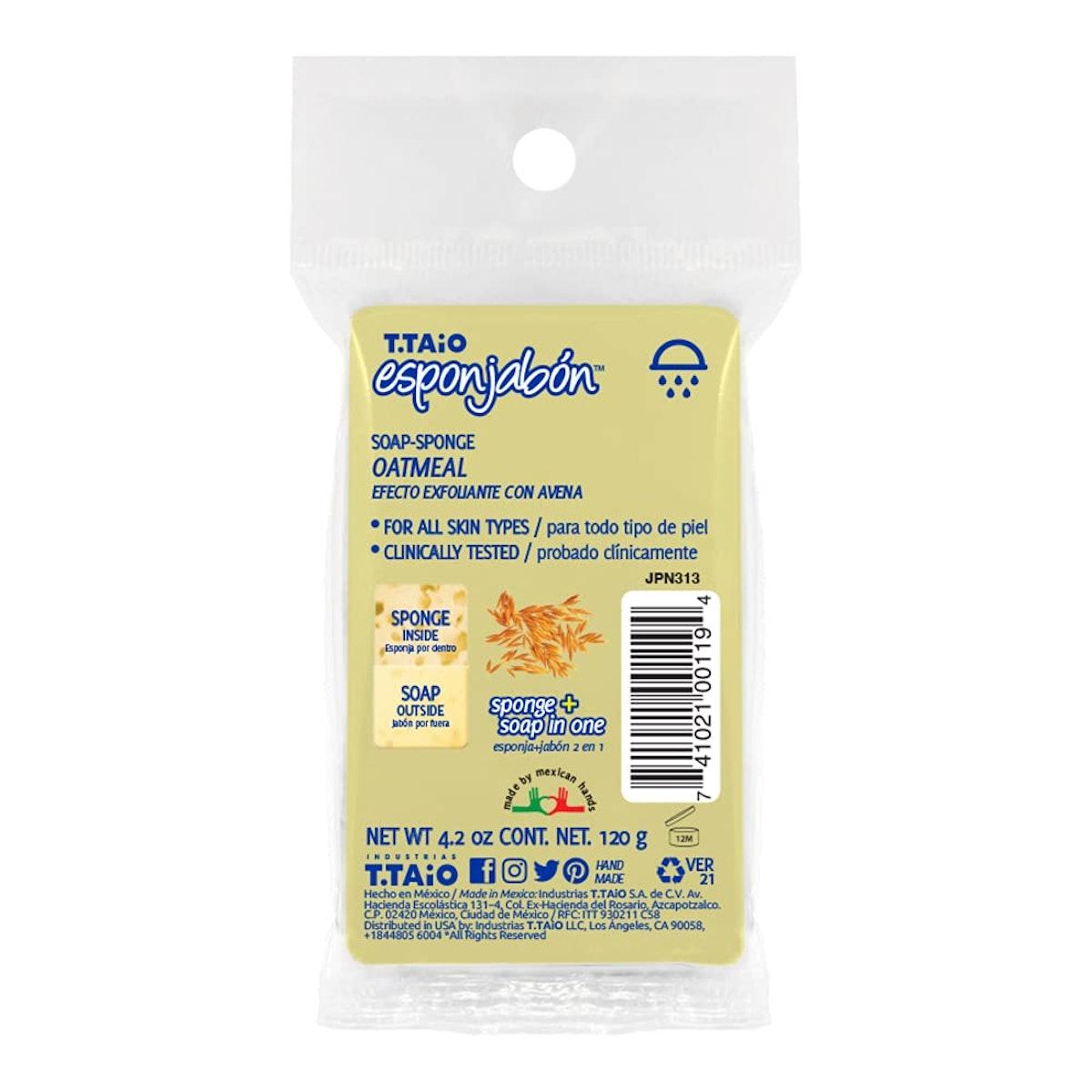 T.Taio Exfoliating Oat Soap