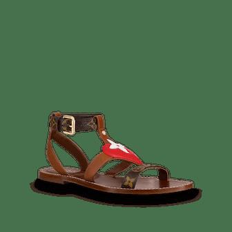 Game On Playful Flat Sandal