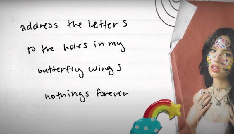 """Lyrics to """"hope ur ok"""" by Olivia Rodrigo"""