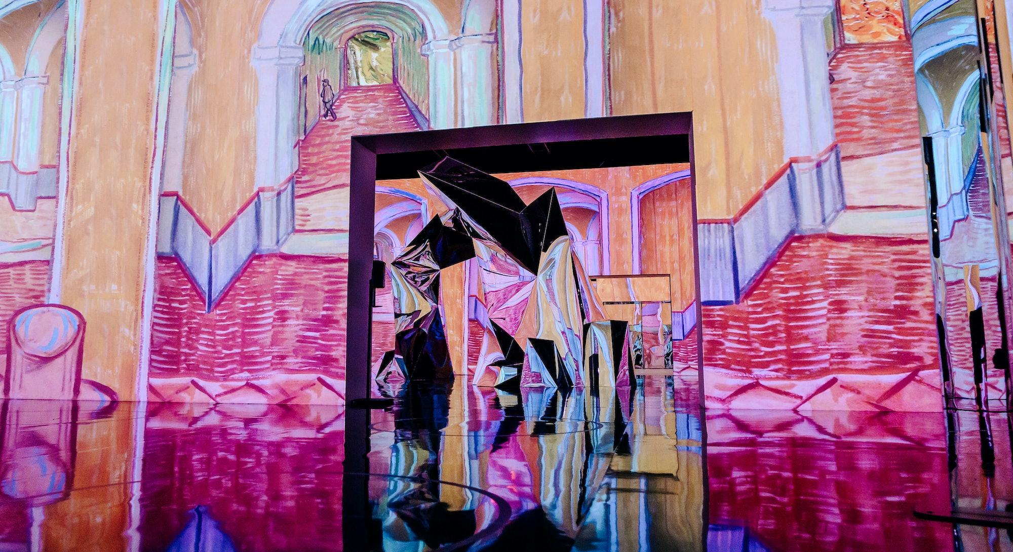 The team behind New York's Van Gogh exhibition includes Italian film producer Massimiliano Siccardi ...