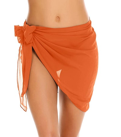 Ekouaer Sheer Swimsuit Wrap