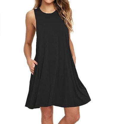 AUSELILY T Shirt Dress