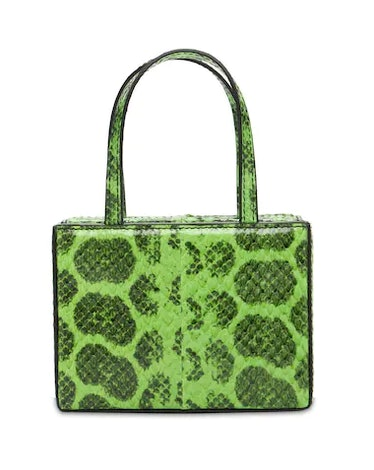 Superamini Giorgia Snake Top Handle Bag