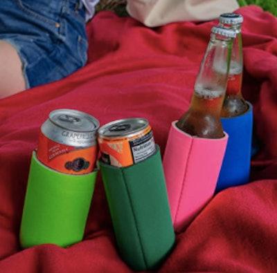 TahoeBay Slim Can Cooler Sleeves (12-Pack)