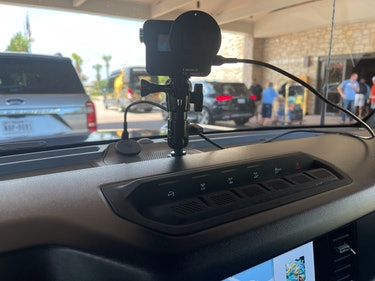 2021 Ford Bronco GoPro Mount