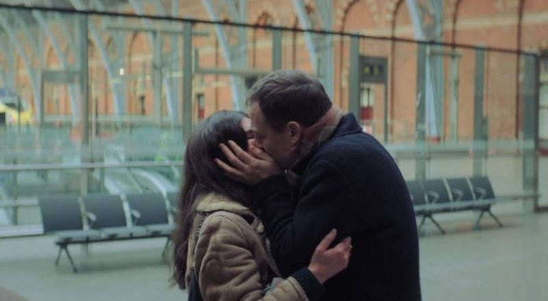 Aine and Richard kiss in the 'This Way Up' Season 2 trailer.