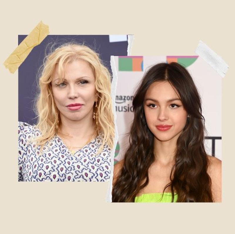 Courtney Rodrigo attends the the MOCA Benefit 2019 and Olivia Rodrigo attends the BRIT Awards 2021.