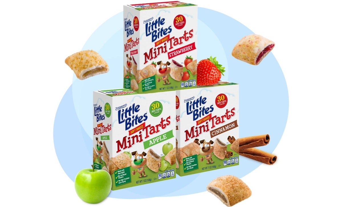Little Bites' new Mini Tarts are basically bite-sized pies and come in three flavors.