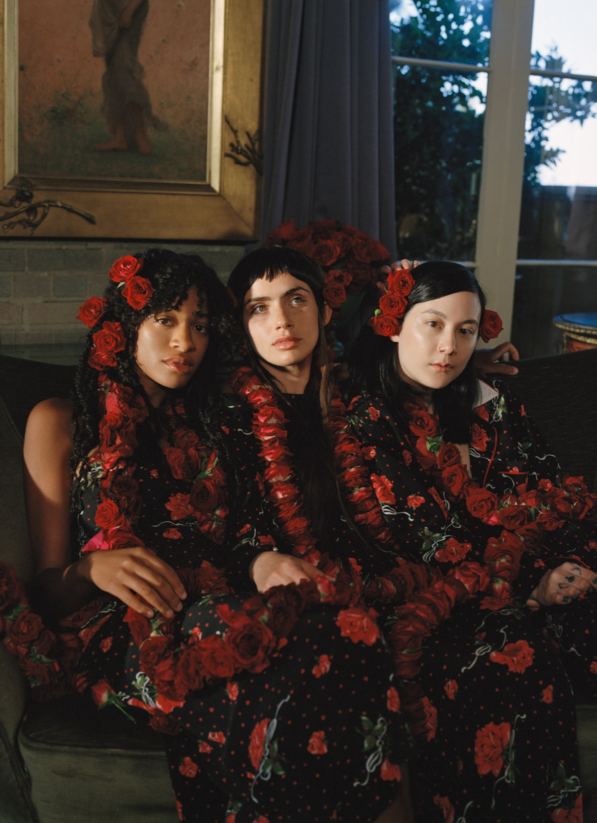 Kilo Kish, Zoe Bleu and Michelle Zauner