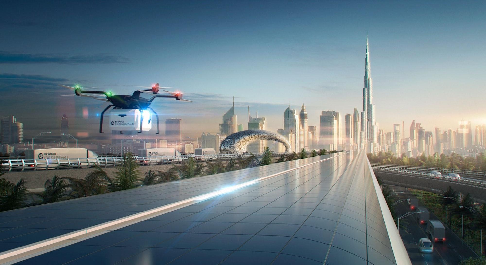 Hyperloop mock-up