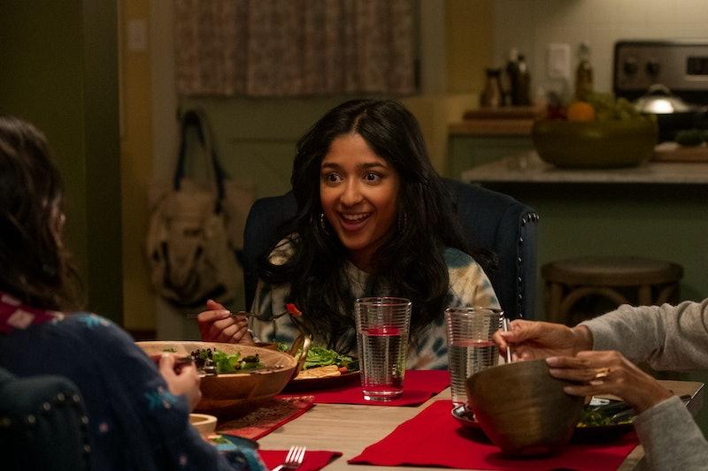 MAITREYI RAMAKRISHNAN as DEVI VISHWAKUMAR in episode 201 of NEVER HAVE I EVER via Netflix Media Cent...