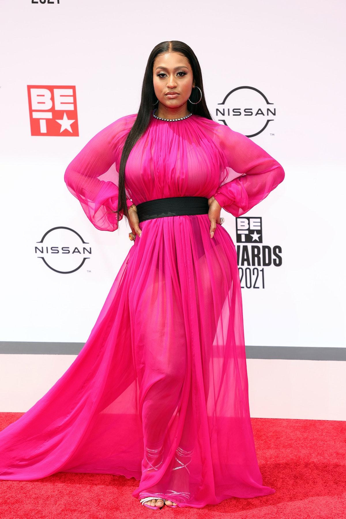Jazmine Sullivan at the 2021 BET Awards