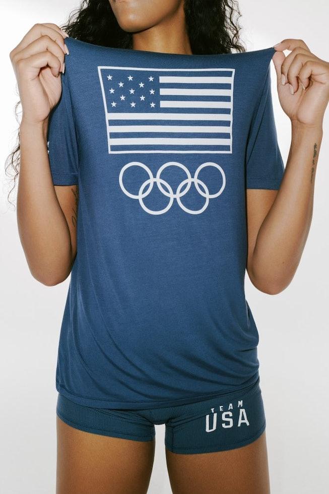 SKIMS for Team USA Olympics 2021.