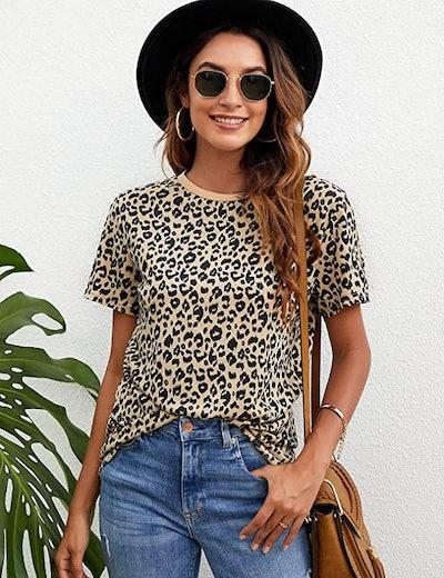 BMJL Casual Leopard Print Top