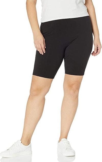 Just My Size Plus-Size Stretch Jersey Bike Shorts