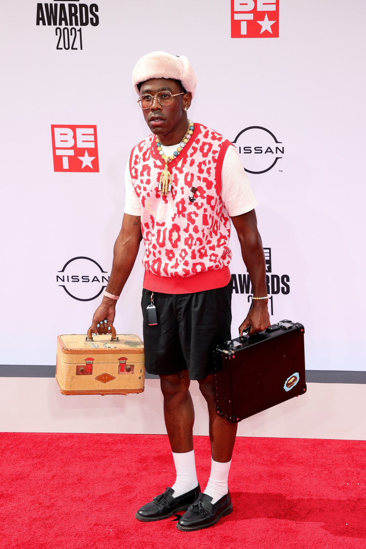 Tyler, the Creator at the 2021 BET Awards