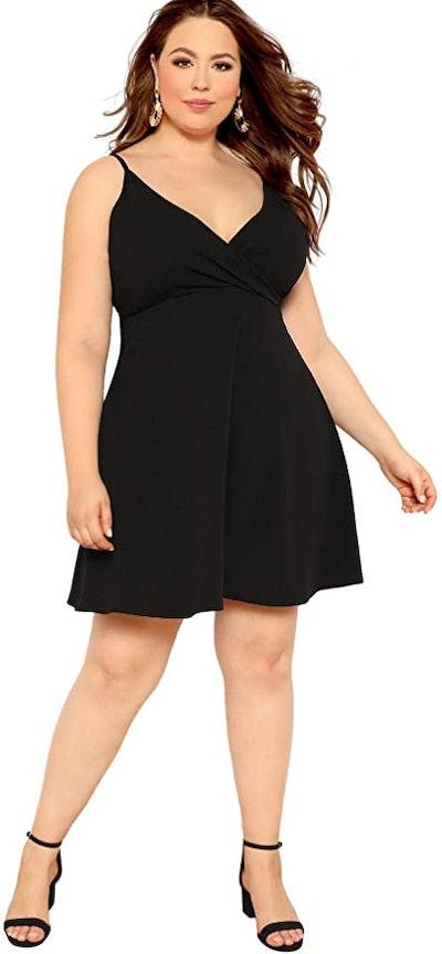 SheIn Plus Size V Neck Cami Dress