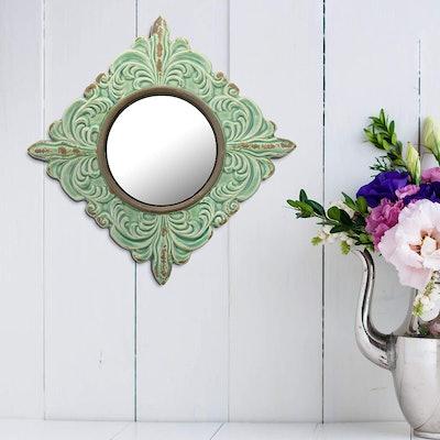 Stonebriar Decorative Ceramic Wall Mirror