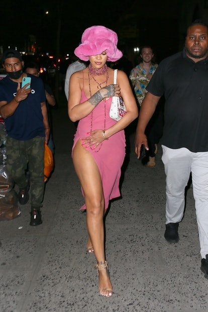 Rihanna and ASAP Rocky, head to Barcade in New York.