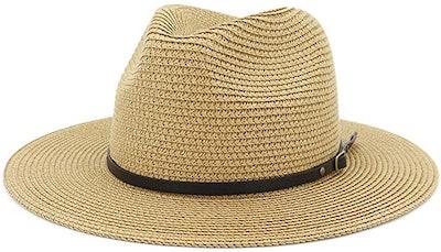 Lisianthus Women Wide Brim Straw Hat
