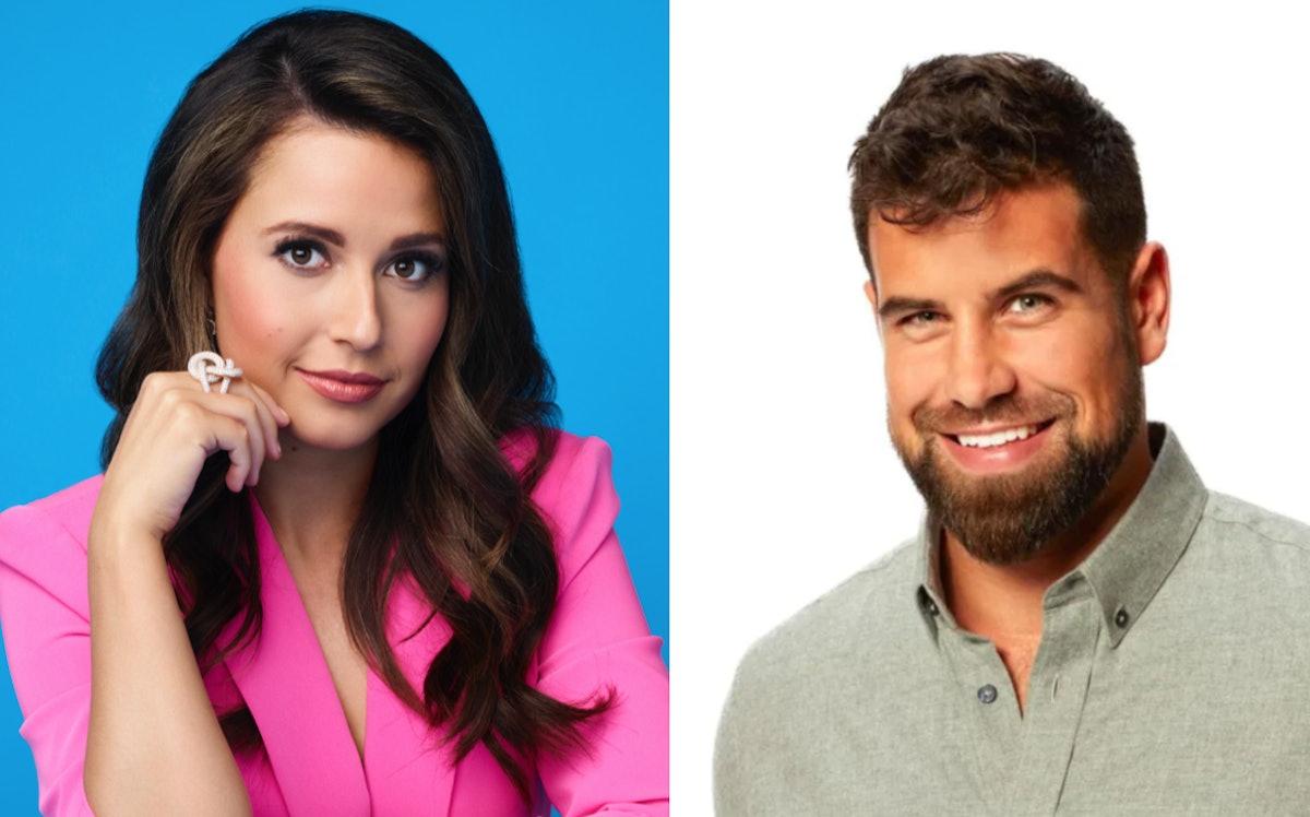 Katie Thurston and Blake Moynes on Season 17 of 'The Bachelorette' on ABC