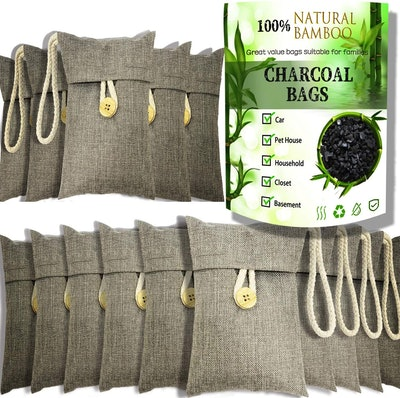 wyewye Activated Bamboo Charcoal Air Purifying Bags (15-Pack)