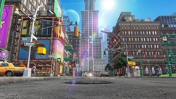 New Donk City Mario Golf Super Rush