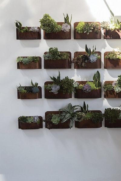 Rust Wall Planter