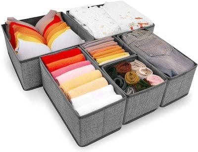 Criusia Drawer Organizer (6-Pack)
