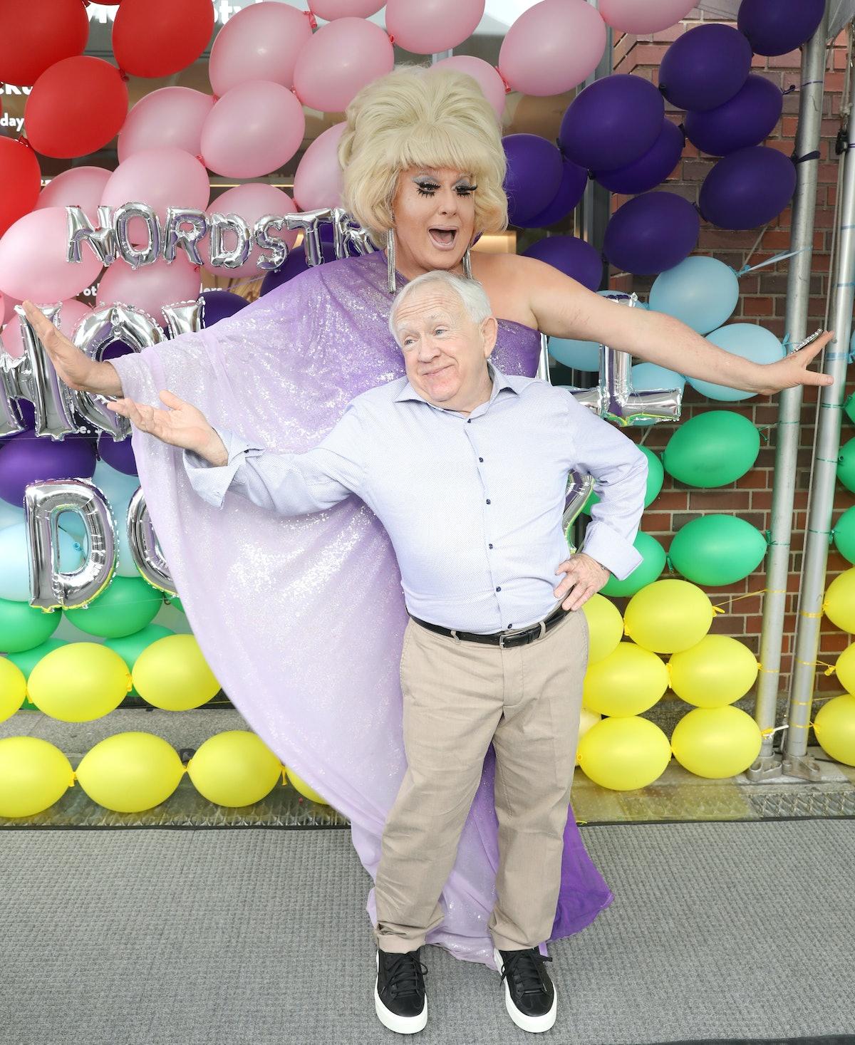 Leslie Jordan and Lady Bunny
