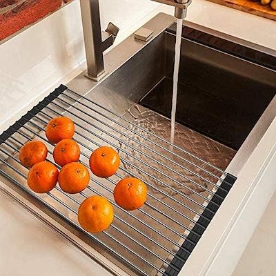 Ahuyan Roll Up Dish Drying Rack