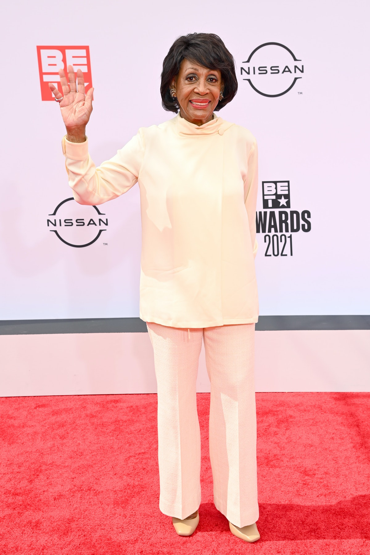 Maxine Waters at the 2021 BET Awards