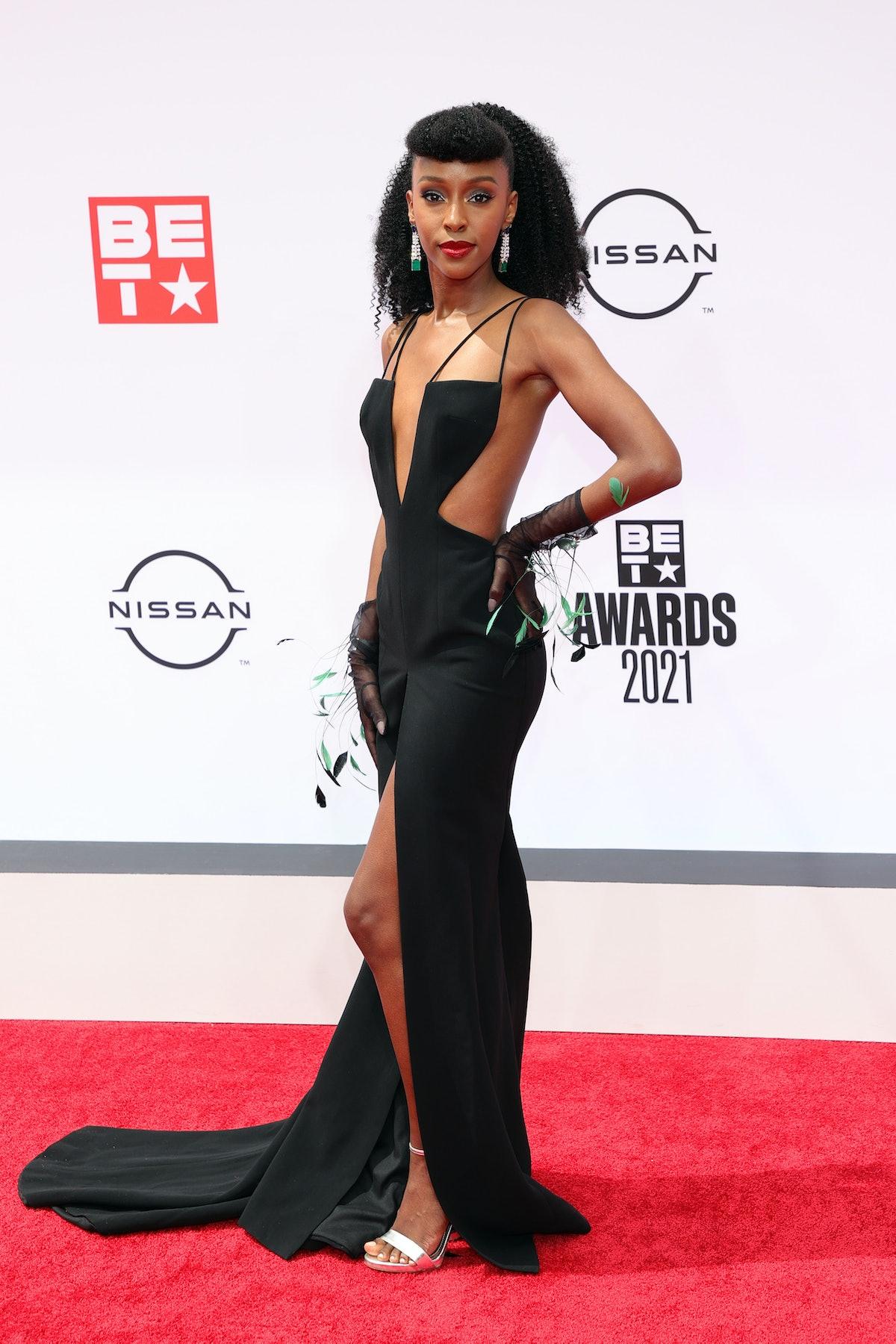 Ebony Obsidian at the 2021 BET Awards