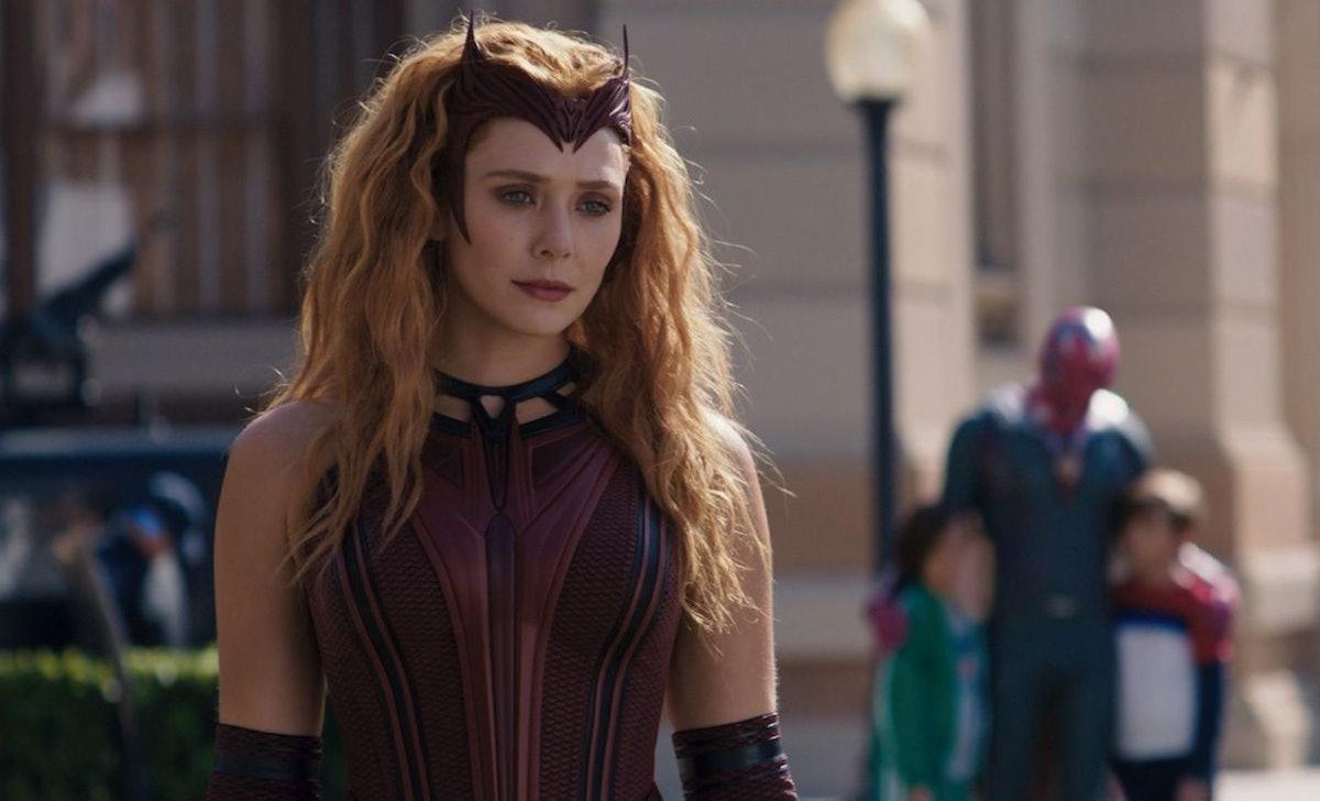 Wanda in the 'WandaVision' finale