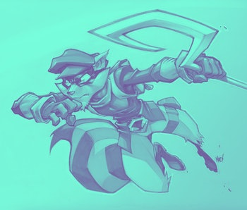 Sly Cooper: Thieves in Time concept art from Sony PlayStation 3