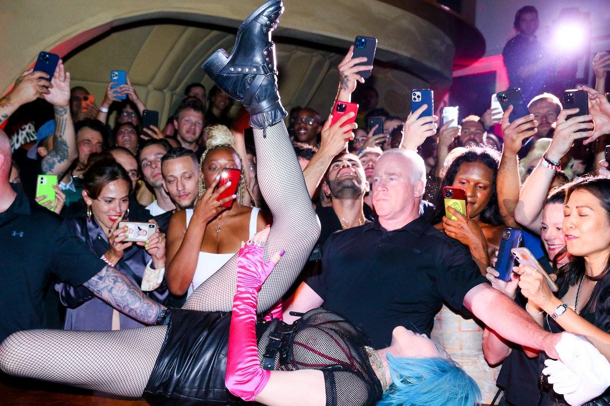 Madonna on Bard