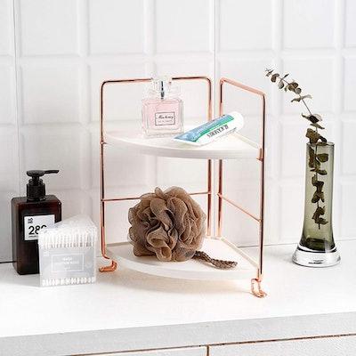 VEEMOS 2-Tier Corner Counter Shelf