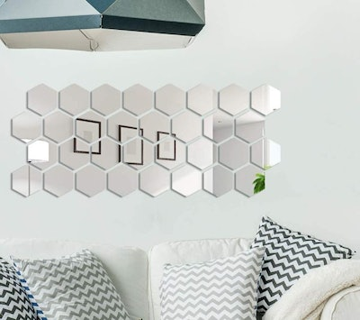 Shappy Mirror Wall Stickers (32 Pieces)