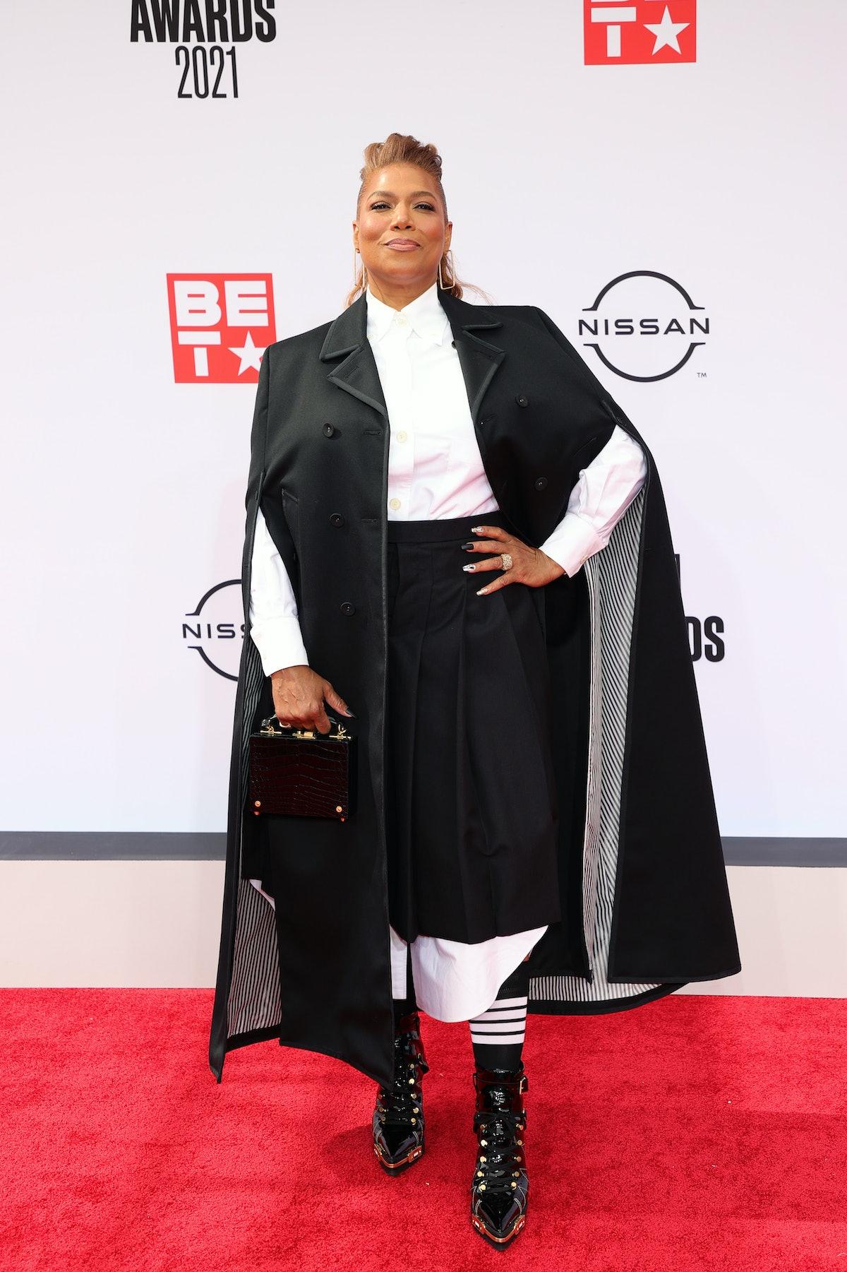 Queen Latifah at the 2021 BET Awards
