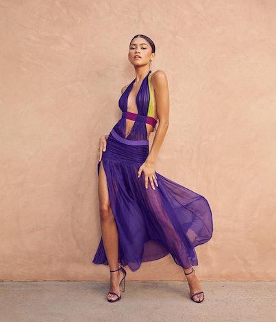 Zendaya in Versace at the 2021 BET Awards.