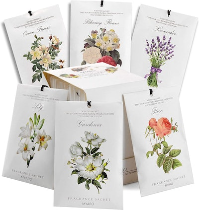 MYARO Scented Sachets (Pack of 12)